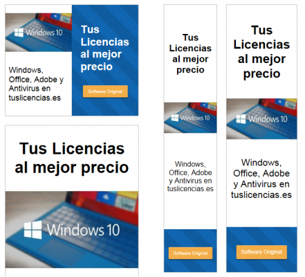 Licencias de windows